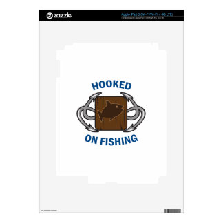 HOOKED ON FISHING SKINS FOR iPad 3