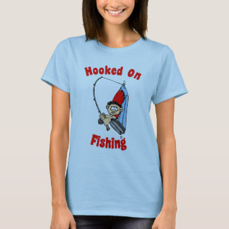 Hooked On Fishing Women's T-Shirt