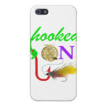 hooked on fly fishing iPhone 5 covers
