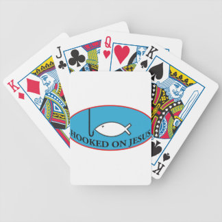 Hooked on Jesus Playing Cards