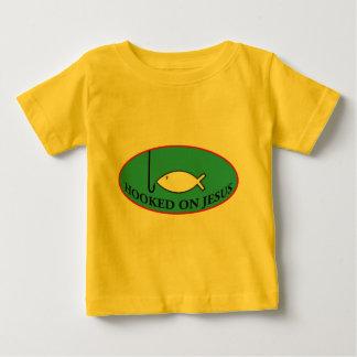 Hooked on Jesus Toddler Shirt