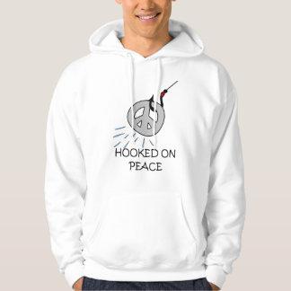 HOOKED ON PEACE HOODY