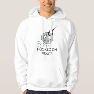 HOOKED ON PEACE PULLOVER