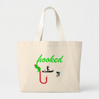 hooked on tournament fishing bag