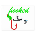 hooked on tournament fishing post cards