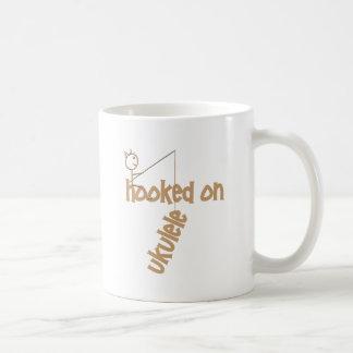 Hooked On Ukulele Classic White Coffee Mug
