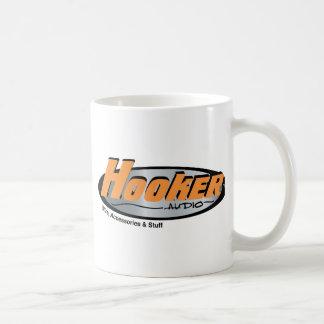 Hooker Audio Merchandise Classic White Coffee Mug