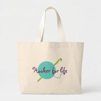 Hooker For Life Tote Bag