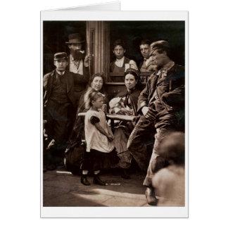 Hookey Alf de Whitechapel, a partir de la 'vida en Tarjetas