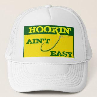 """""""Hookin' ain't easy"""" Mesh Ballcap Trucker Hat"""