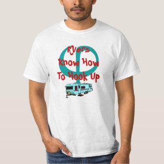 Hooking hook up T-shirt RV RVing shirt Road Design