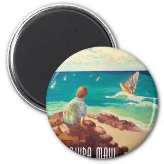 hookipa windsurfing magnet