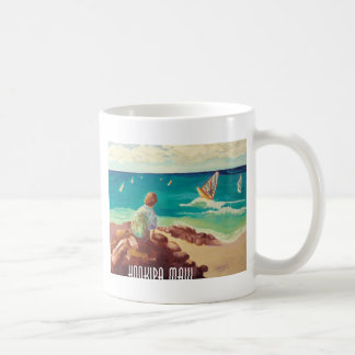 hookipa windsurfing mug