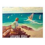 hookipa windsurfing tarjetas postales