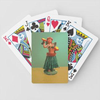 Hoola Girl Bicycle Playing Cards