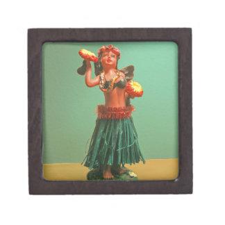 Hoola Girl Jewelry Box