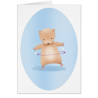 hoola hamster card