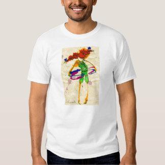hoola hoop girl t-shirts