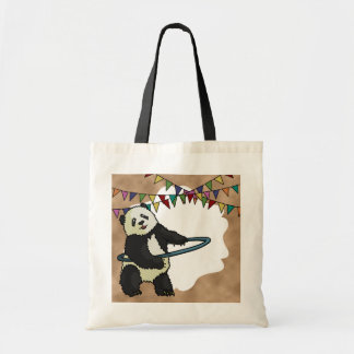 Hoola Hooping Panda, bag
