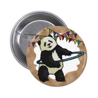 Hoola Hooping Panda, button