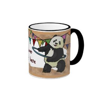 Hoola Hooping Panda, mug