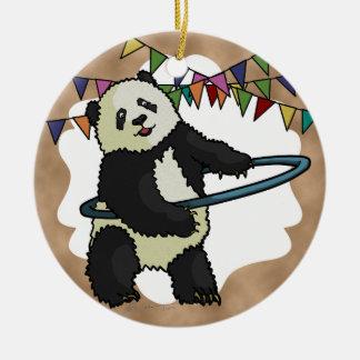 Hoola Hooping Panda, ornament