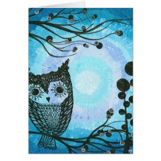 Hoolandia (c) 2013 – Contrast Owl 02 Card