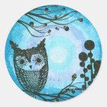 Hoolandia (c) 2013 – Contrast Owl 02 Sticker