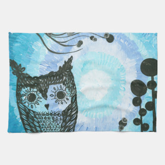 Hoolandia (c) 2013 - Contrast Owl 02 Towels
