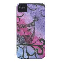 Hoolandia (c) 2013 - Contrast Owl 03 Case-Mate iPhone 4 Case