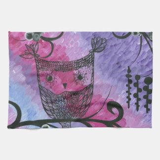 Hoolandia (c) 2013 - Contrast Owl 03 Towels