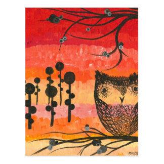 Hoolandia (c) 2013 – Contrast Owl Postcard