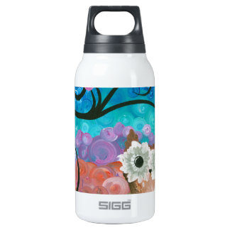 Hoolandia (c) 2013 – Expressions Owl 02 Insulated Water Bottle