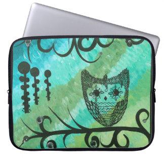 Hoolandia (c) 2013 - Owl Computer Sleeve