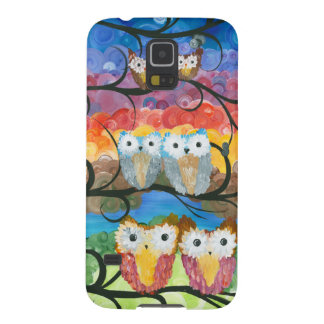 Hoolandia (c) 2013 – Owl Expressions Series Galaxy S5 Cases