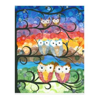 Hoolandia (c) 2013 – Owl Expressions Series Letterhead