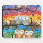 Hoolandia (c) 2013 – Owl Expressions Series Mouse Pad