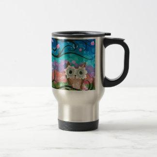 Hoolandia (c) 2013 – Owl Expressions Series Travel Mug