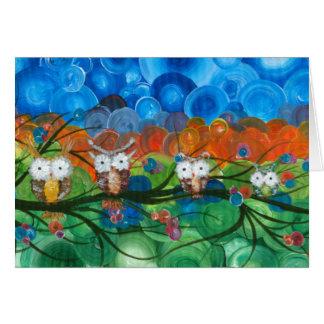 Hoolandia (c) 2013 – Owl Family Trees Greeting Card