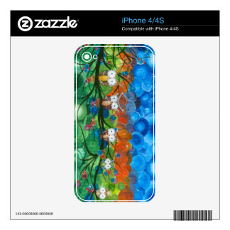 Hoolandia (c) 2013 – Owl Family Trees Skin For The iPhone 4S