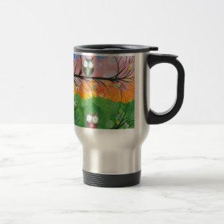 Hoolandia (c) 2013 – Owl Family Trees Travel Mug