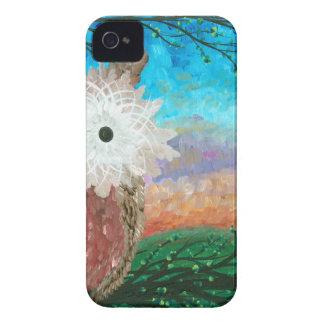 Hoolandia (c) 2013 – Owl Half-a-Hoot Series iPhone 4 Case-Mate Case
