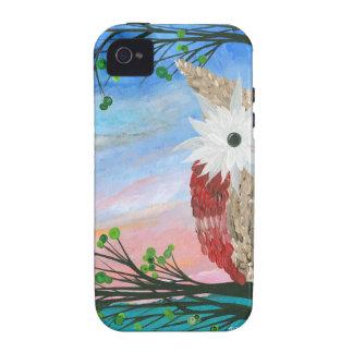 Hoolandia (c) 2013 – Owl Half-a-Hoot Series Case-Mate iPhone 4 Case