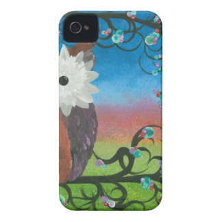 Hoolandia (c) 2013 – Owl Half-a-Hoot Series Case-Mate iPhone 4 Cases