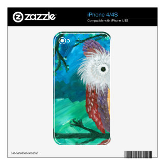 Hoolandia (c) 2013 – Owl Half-a-Hoot Series Skins For The iPhone 4
