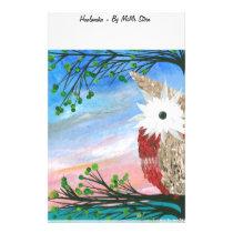 Hoolandia (c) 2013 – Owl Half-a-Hoot Series Stationery