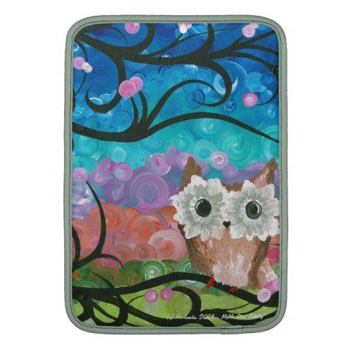 Hoolandia (c) 2013 - Owl MacBook Sleeves
