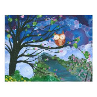 Hoolandia (c) 2013 – Owl Seasons Postcard
