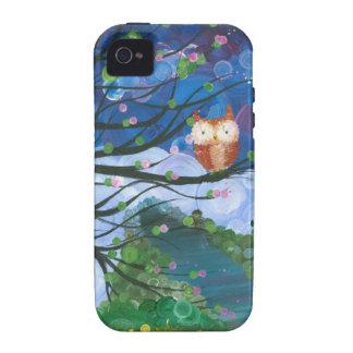 """Hoolandia (c) 2013 – Owl Seasons """"Spring"""" iPhone 4 Cases"""
