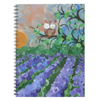 "Hoolandia (c) 2013 – Owl Seasons - ""Summer"" Notebook"
